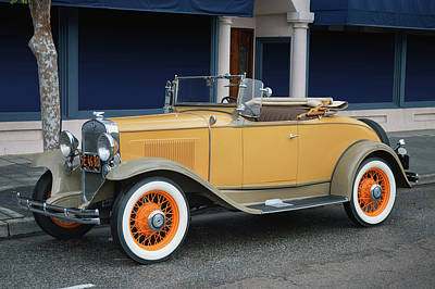 Photograph - 1931 Chevrolet Cabriolet by Bill Dutting