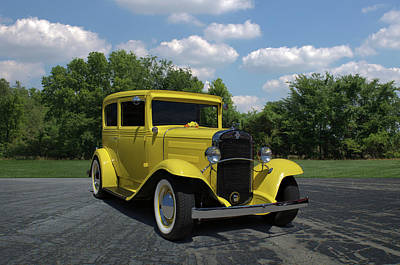 Photograph - 1931 Chevrolet Sedan by Tim McCullough