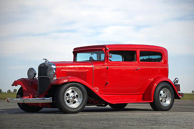 Photograph - 1930 Chevrolet Sedan by Tim McCullough