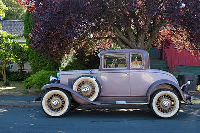 Photograph - 1931 Chevy Coupe by Keith Boone