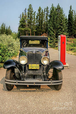 Photograph - 1931 Chevy by Roxie Crouch