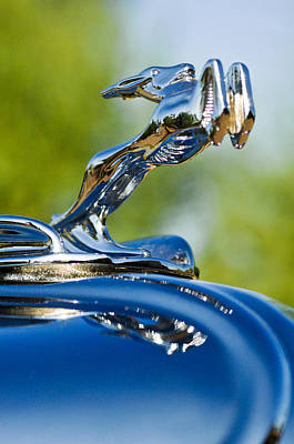 Photograph - 1931 Chrysler Cn Roadster Hood Ornament 2 by Jill Reger