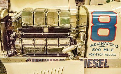 Indy Car Photograph - 1931 Cummins Diesel Special by Josh Williams