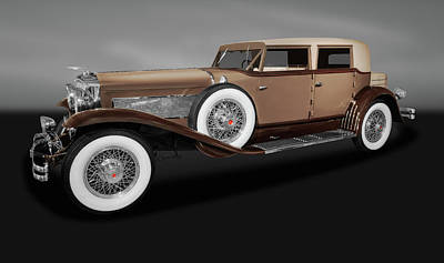 Photograph - 1931 Duesenberg Model J Beverly Sedan  -  1931duesenbergbeverlygry171761 by Frank J Benz