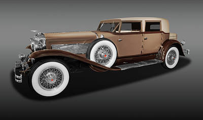 Photograph - 1931 Duesenberg Model J Beverly Sedan  -  1931duesenbergbevsedfa171761 by Frank J Benz