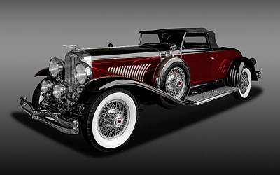 Photograph - 1931 Duesenberg Model J Convertible Coupe  -  1931duesenbergcpemdljfa171661 by Frank J Benz