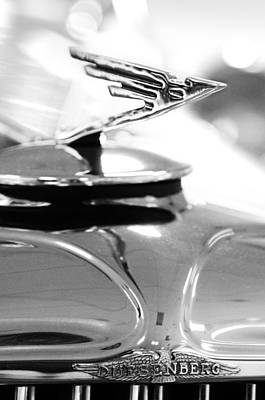 Photograph - 1931 Duesenberg Model J Hood Ornament 2 by Jill Reger