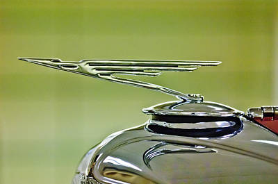 Photograph - 1931 Duesenberg Model J Hood Ornament 3 by Jill Reger