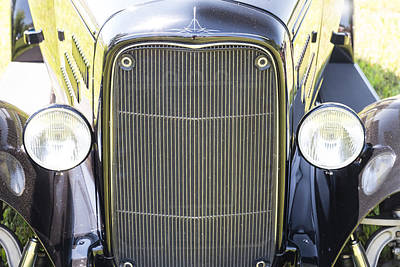 Photograph - 1931 Ford A400 Front Close-up by James BO  Insogna