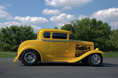 Photograph - 1931 Ford Coupe Hot Rod by TeeMack