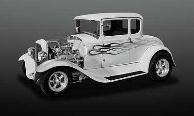 Photograph - 1931 Ford Model A 5 Window Coupe  -  31fdmdabw365 by Frank J Benz