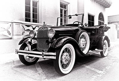 Aged Photograph - 1931 Ford Phaeton by Marcia Colelli