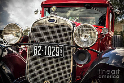 Photograph - 1931 Ford Pu Details by Imagery by Charly