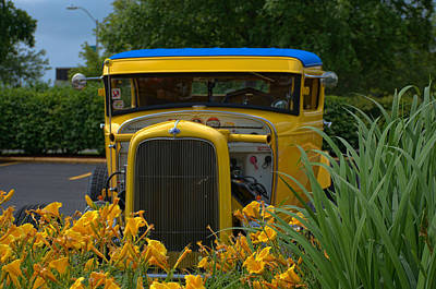 Photograph - 1931 Ford Sedan Hot Rod by Tim McCullough