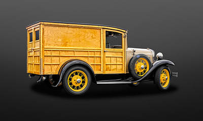 Photograph - 1931 Ford Special Delivery Model A Woodie  -  31fdspdlwd600 by Frank J Benz