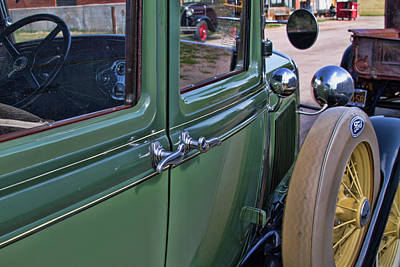 Photograph - 1931 Ford Suicide Door by Alana Thrower