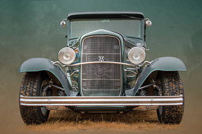 Priska Wettstein Pink Hues - 1931 Ford Victoria  0843 by Kristina Rinell