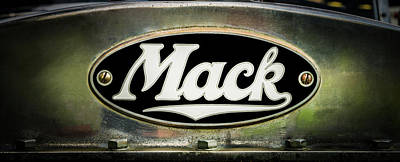 Photograph - 1931 Mack by TL Mair