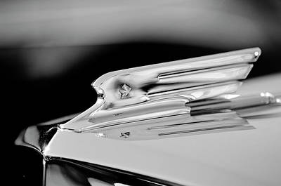 Photograph - 1931 Marmon Sixteen Coupe Hood Ornament 3 by Jill Reger