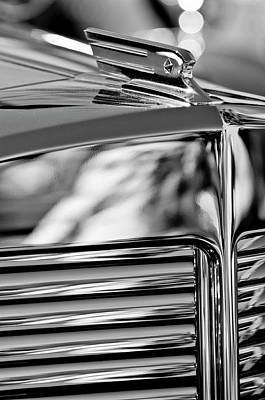 Photograph - 1931 Marmon Sixteen Coupe Hood Ornament 4 by Jill Reger