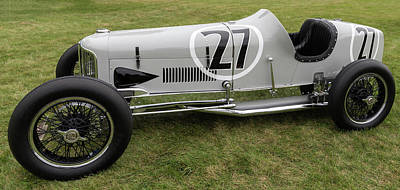 Photograph - 1931 Miller V16 Speedster by Randy Scherkenbach