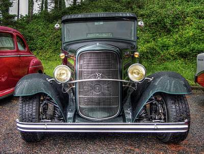 Photograph - 1931 Model A Ford by Thom Zehrfeld