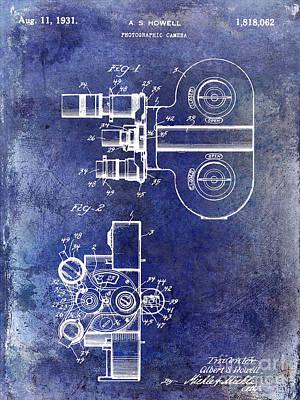 1931 Movie Camera Patent Art Print