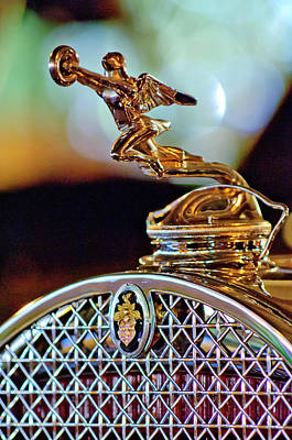Photograph - 1931 Packard Convertible Victoria Hood Ornament by Jill Reger