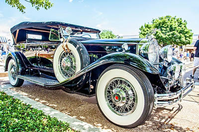 Digital Art - 1931 Packard by Ed Dooley