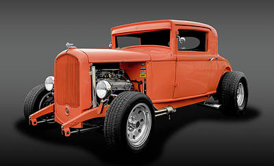 Photograph - 1931 Plymouth 3 Window Coupe  -  1931plymcoupefa8228 by Frank J Benz