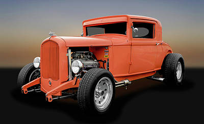 Photograph - 1931 Plymouth 3 Window Coupe  -  1931plymouth3win8228 by Frank J Benz