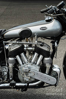Photograph - 1931 Ss80 Brough by Tim Gainey