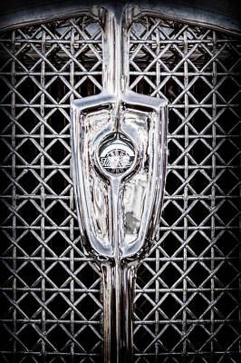 1931 Studebaker President Four Seasons Roadster Grille Emblem -1013ac Art Print by Jill Reger