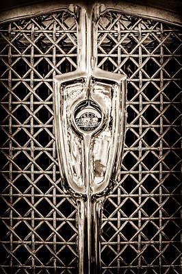 1931 Studebaker President Four Seasons Roadster Grille Emblem -1013s Art Print by Jill Reger