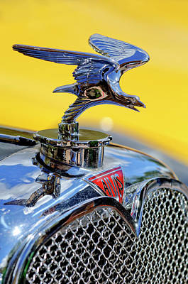 1932 Alvis Hood Ornament Art Print by Jill Reger