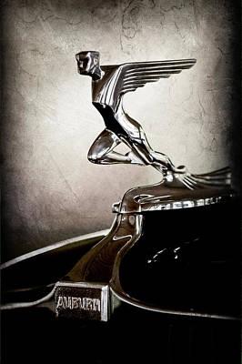 Photograph - 1932 Auburn 12-160 Speedster Hood Ornament - Emblem -1721ac by Jill Reger