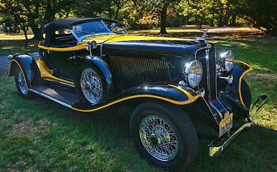 Photograph - 1932 Auburn 12 - 160 A Speedster by Allen Beatty