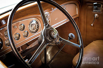 Photograph - 1932 Cadillac by Brian Jannsen