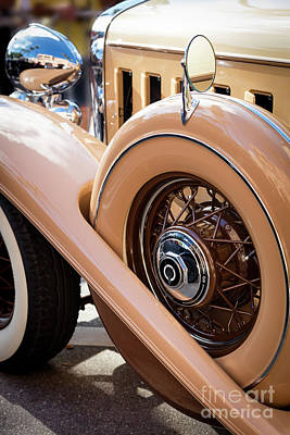 Photograph - 1932 Cadillac II by Brian Jannsen