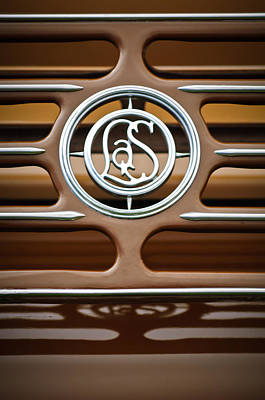 Photograph - 1932 Cadillac Lasalle Emblem by Jill Reger