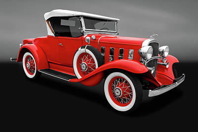 Photograph - 1932 Chevrolet Cabriolet Deluxe  -  1932chevroletcabrioletgry18881 by Frank J Benz