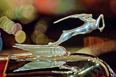 1932 Chrysler Imperial Hood Ornament 1 Art Print by Jill Reger