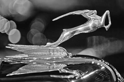 Photograph - 1932 Chrysler Imperial Hood Ornament 3 by Jill Reger