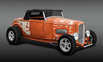Photograph - 1932 Ford Convertible Work In Progress  -  33fdcvfa9744 by Frank J Benz