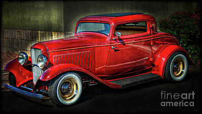 Photograph - 1932 Ford Coupe  by Saija  Lehtonen