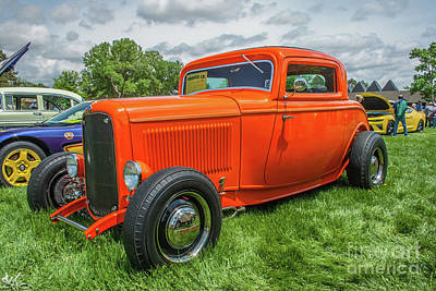Photograph - 1932 Ford Coupe by Tony Baca
