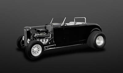 Photograph - 1932 Ford Deuce Coupe Convertible  -  32fdducp404 by Frank J Benz