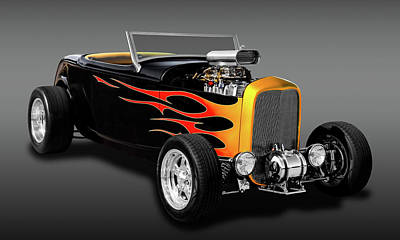 1932 Ford Deuce Coupe High Boy - Grounds 4 Divorce  -  1932fordhbfa9579 Art Print