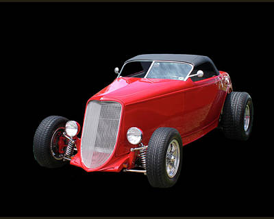 Photograph - 1932 Ford Hot Roadster by Jack Pumphrey