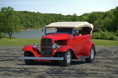Photograph - 1932 Ford Phaeton Hot Rod by Tim McCullough